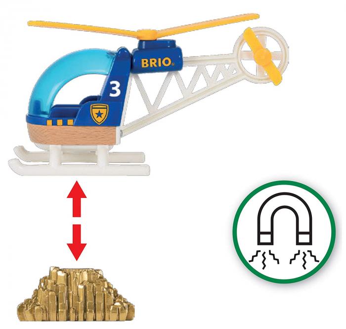 Elicopter de poliție, Brio 33828 2