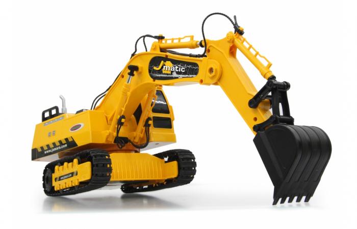 Excavator cu telecomandă J-Matic 1:27, Jamara 404920 6