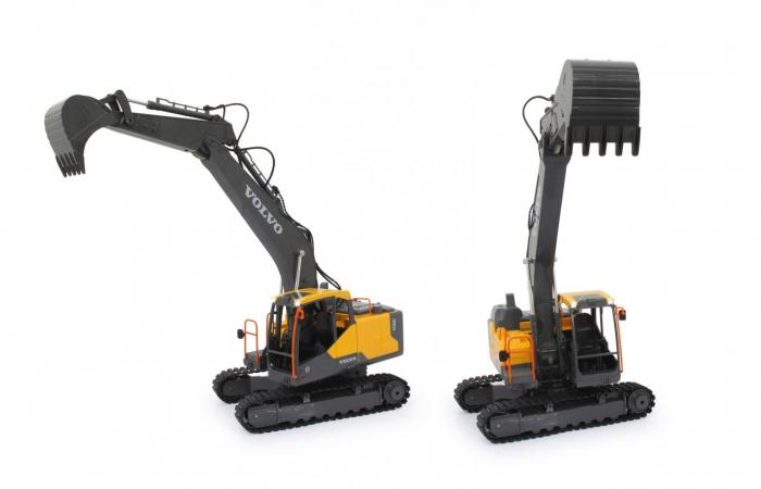 Excavator cu telecomandă Volvo, Jamara 405055 6