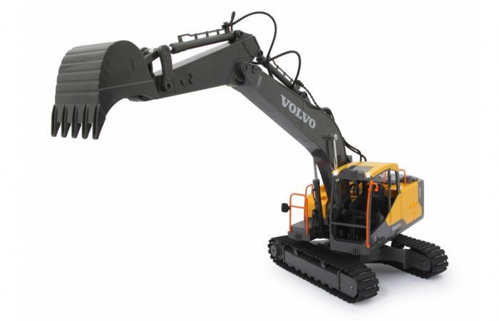 Excavator cu telecomandă Volvo, Jamara 405055 7