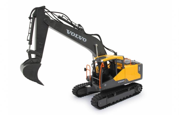 Excavator cu telecomandă Volvo, Jamara 405055 8