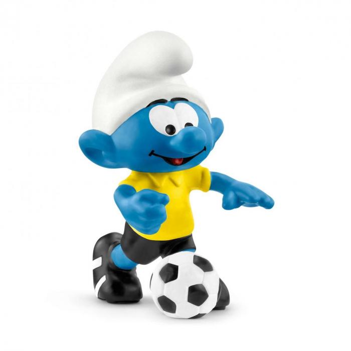 Fotbal Strumf cu minge - Figurina Schleich 20806 0