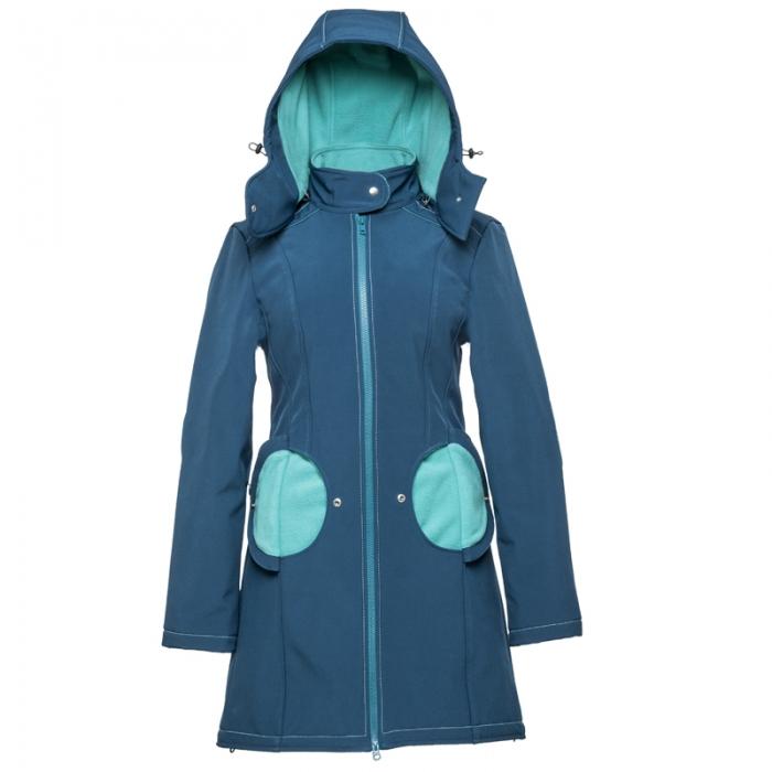Geacă pentru mămici 4in1 Liliputi® - Azure Turquoise 0