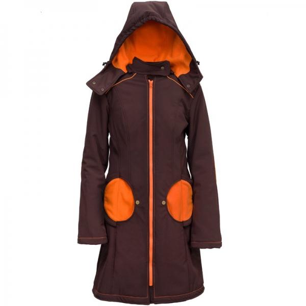 Geacă pentru mămici Liliputi® - Brown-orange 0