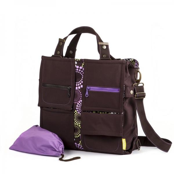 Geantă pentru mămici Liliputi® - Lavendering 0