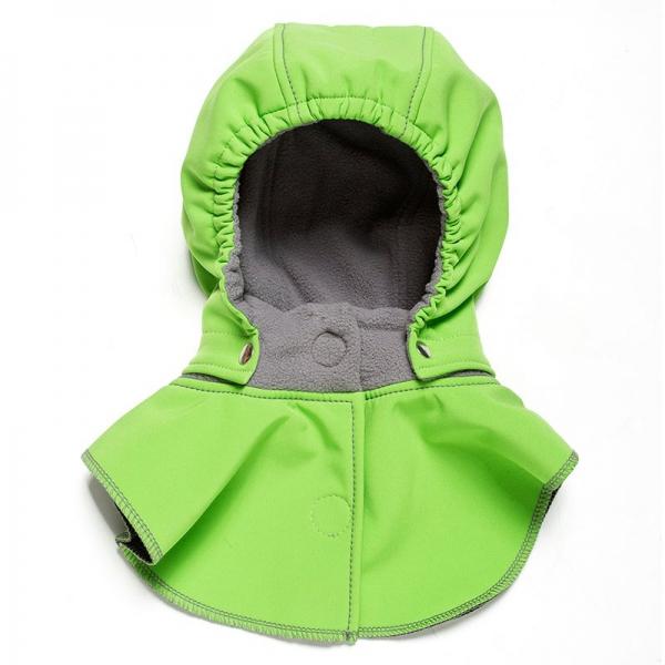 Glugă și fular de încălzire a gâtului pentru bebeluși Liliputi® - Green-grey 0