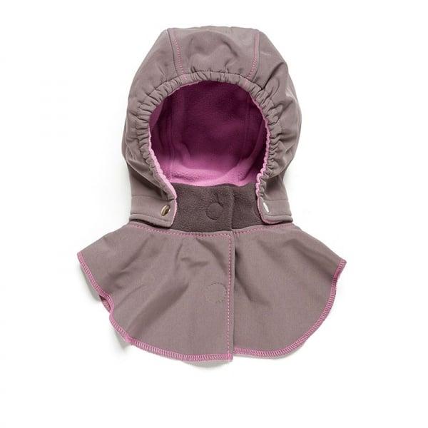 Glugă și fular de încălzire a gâtului pentru bebeluși Liliputi® - Peony 0