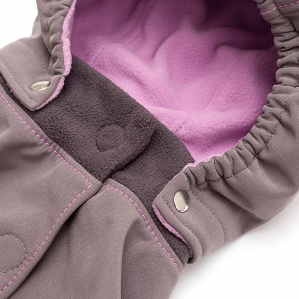 Glugă și fular de încălzire a gâtului pentru bebeluși Liliputi® - Peony 1