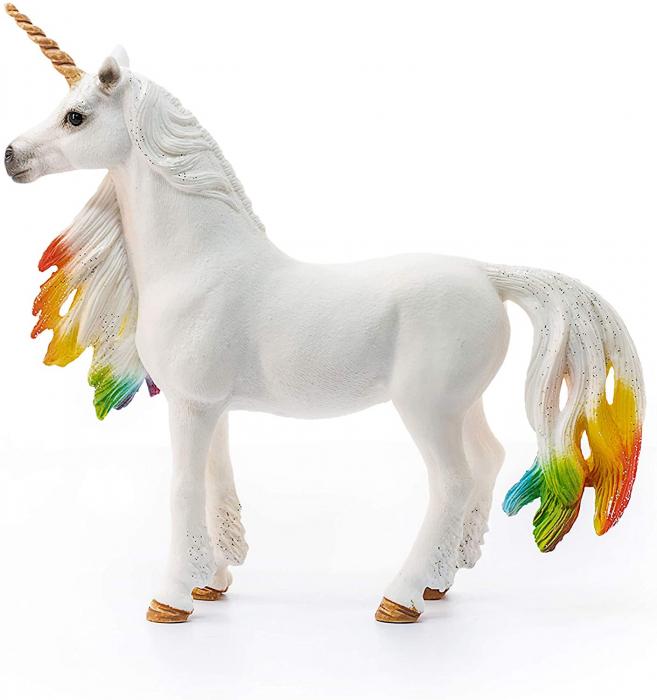Iapa unicorn curcubeu cu strasuri - Figurina Schleich 70524 1