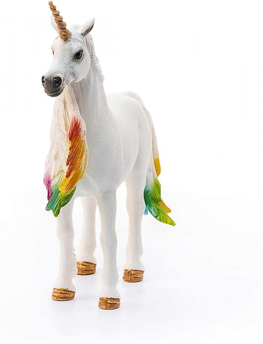 Iapa unicorn curcubeu cu strasuri - Figurina Schleich 70524 3