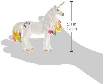 Iapa unicorn curcubeu cu strasuri - Figurina Schleich 70524 6