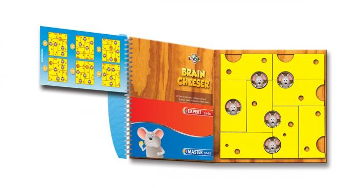 Joc de logică - Brain Cheeser, Smart Games SGT 250 0