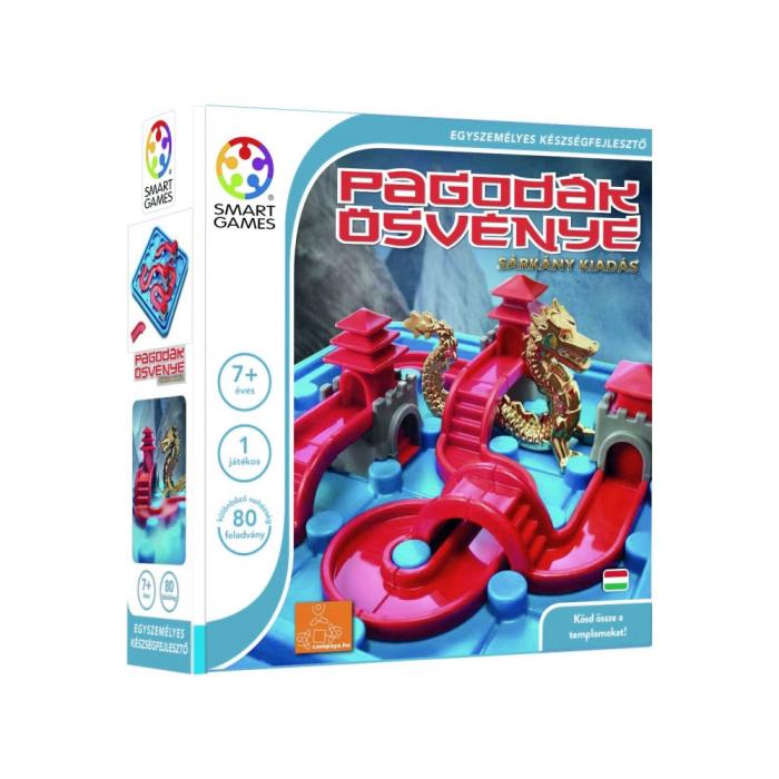 Joc de logică - Temple connection dragon edition, Smart Games SG 283 1