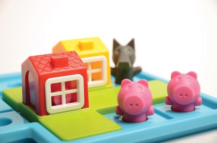 Joc de logică - Three Little Piggies, Smart Games SG 019 [5]