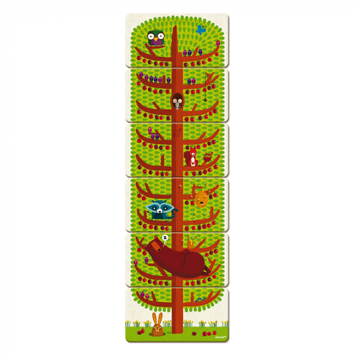 Joc de memorie - Copacelul veseliei - 30 de piese, Janod J02761 2