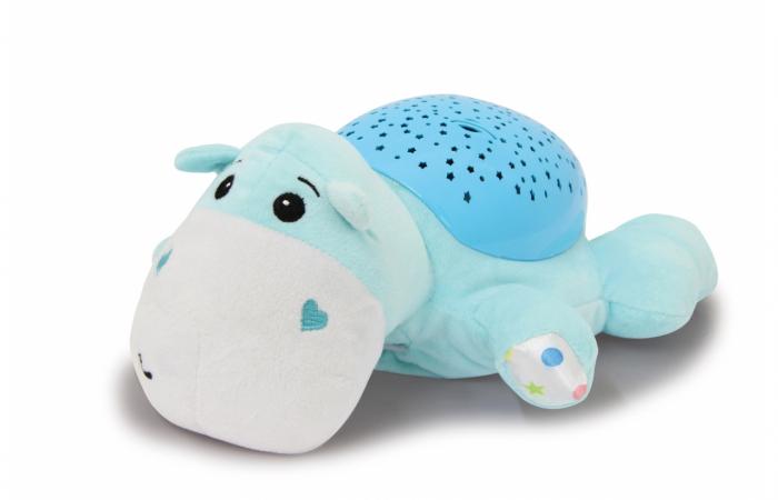Lampă de veghe muzicală cu proiecție stelară - Dreamy Hippo, Jamara 460430 3