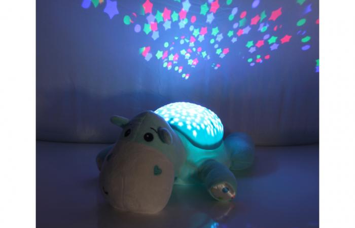 Lampă de veghe muzicală cu proiecție stelară - Dreamy Hippo, Jamara 460430 4