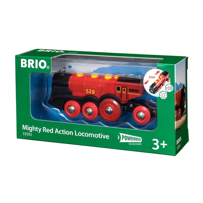Locomotiva rosie puternica, Brio 33592 0