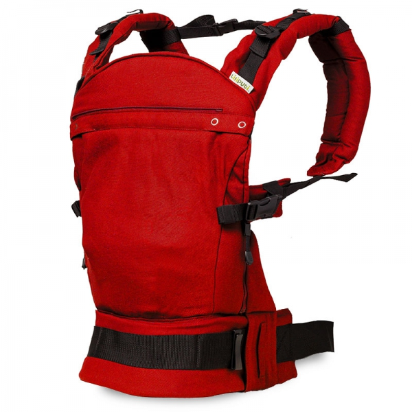 Marsupiu ergonomic SSC Liliputi® Classic line - Rouge