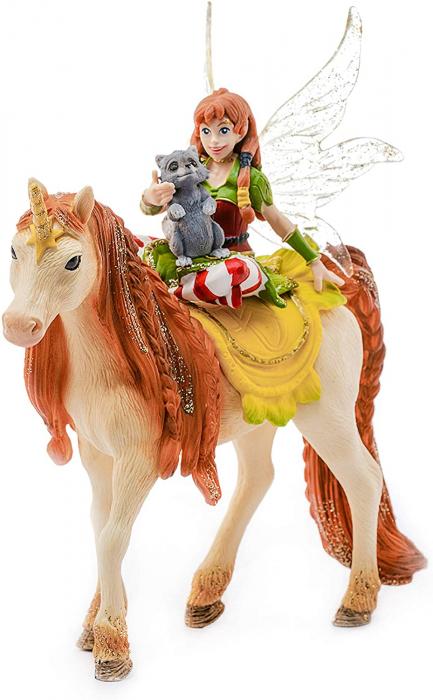 Marween cu un unicorn strălucitor - Figurina Schleich 70567 1