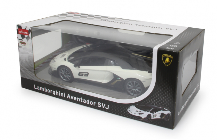 Masină cu telecomandă Lamborghini Aventador SVJ Performance 1:14, Jamara 405172 1