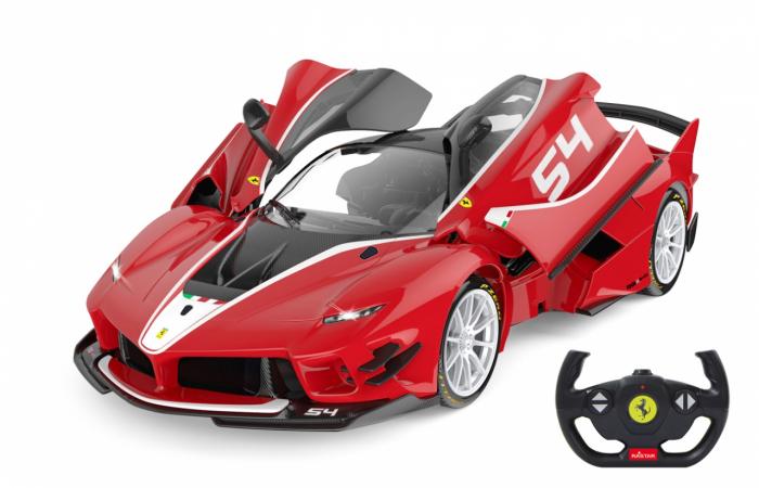 Masină cu telecomandă Ferrari FXX K Evo 1:14, Jamara 405169 0