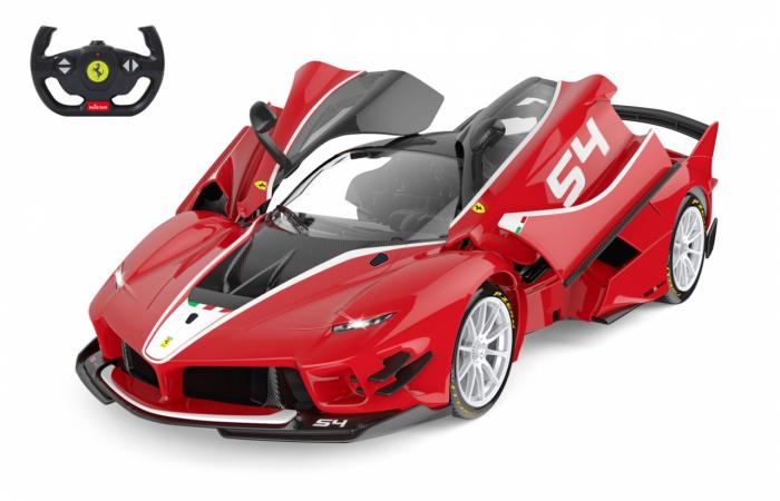 Masină cu telecomandă Ferrari FXX K Evo 1:14, Jamara 405169 2