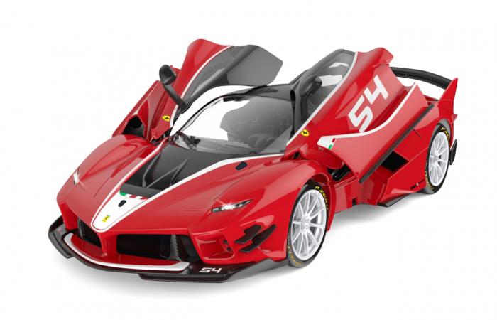 Masină cu telecomandă Ferrari FXX K Evo 1:14, Jamara 405169 3