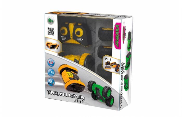 Masină cu telecomandă Trans Mover Stuntcar 4WD 2 in 1, Jamara 410140 9