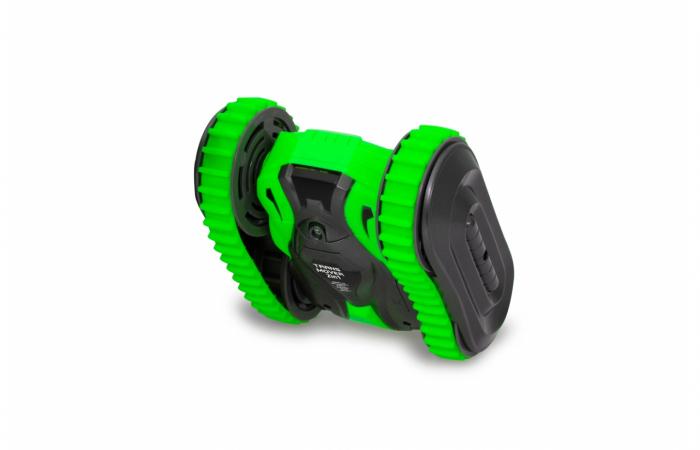 Mașină cu telecomandă Trans Mover Stuntcar 4WD 2 in 1 verde 1:24, Jamara 410141 [4]