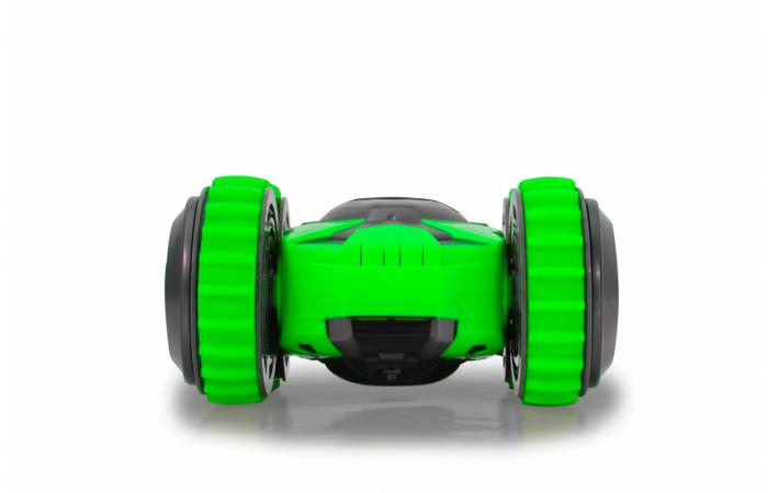 Mașină cu telecomandă Trans Mover Stuntcar 4WD 2 in 1 verde 1:24, Jamara 410141 [5]