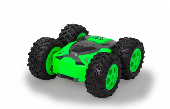 Mașină cu telecomandă Trans Mover Stuntcar 4WD 2 in 1 verde 1:24, Jamara 410141 [7]