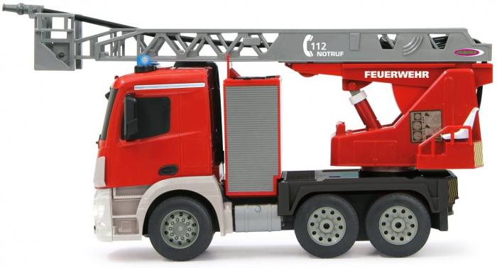 Masină de pompieri cu telecomandă Mercedes Antos cu scara și pompă de apă, Jamara 404960 [2]