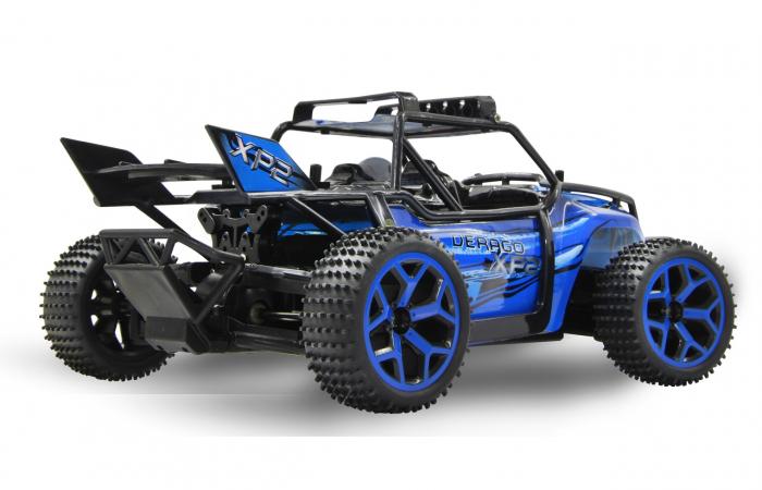 Masină off-road cu telecomandă Derago XP1 4WD albastru 1:18, Jamara 410013 4