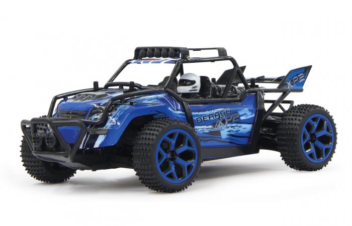 Masină off-road cu telecomandă Derago XP1 4WD albastru 1:18, Jamara 410013 7
