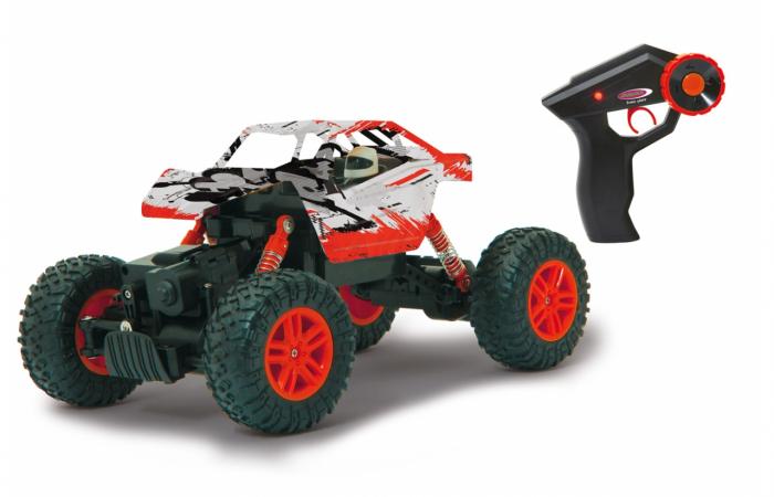 Masină off-road cu telecomandă Hillriser Crawler 4WD portocaliu 1:18, Jamara 410054 0