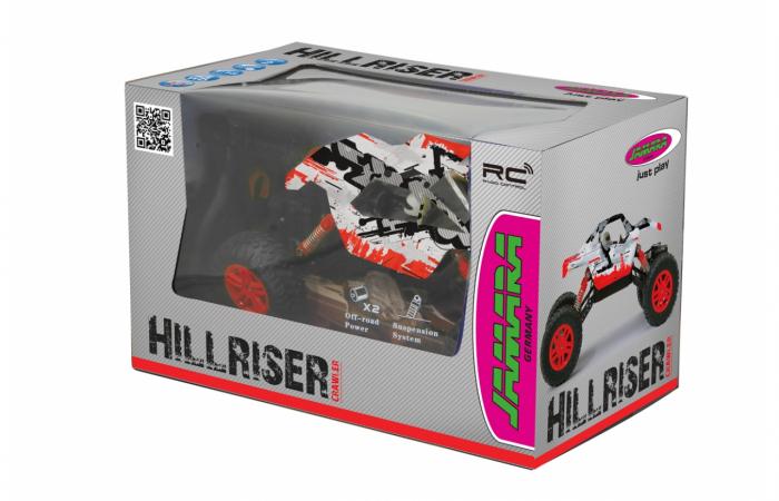 Masină off-road cu telecomandă Hillriser Crawler 4WD portocaliu 1:18, Jamara 410054 1