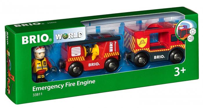 Mașină pompieri, Brio 33811 0