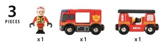 Mașină pompieri, Brio 33811 4