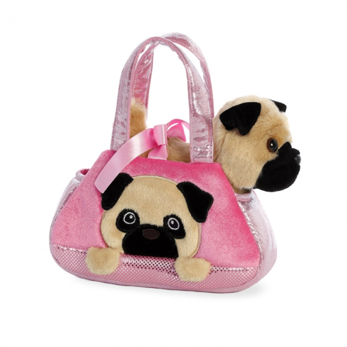 Mops in geanta - Fancy Pal - 20 cm, Aurora 32841 0