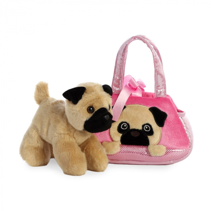 Mops in geanta - Fancy Pal - 20 cm, Aurora 32841 1