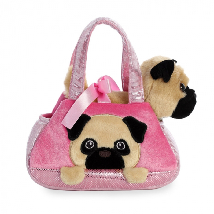 Mops in geanta - Fancy Pal - 20 cm, Aurora 32841 2