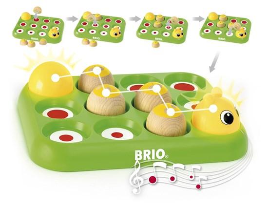 Învață jucând - Omida muzicală, Brio 30189 6