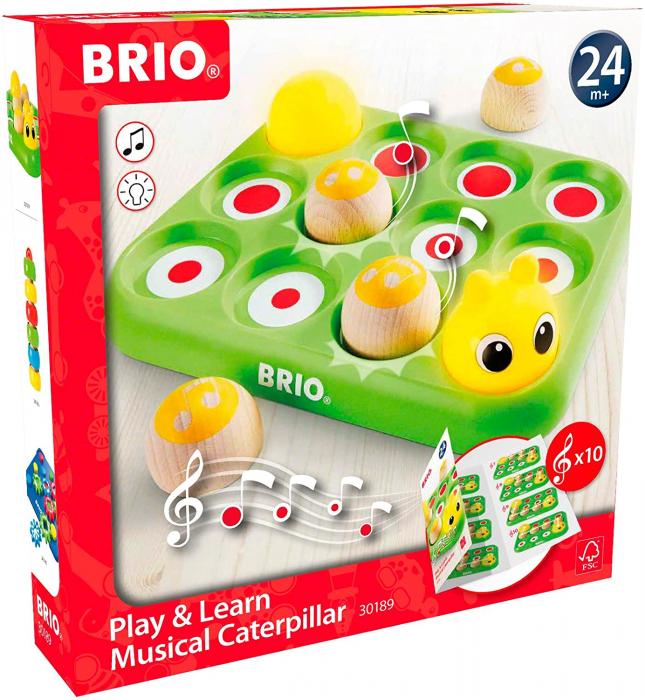 Învață jucând - Omida muzicală, Brio 30189 2
