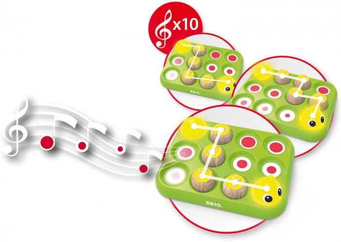 Învață jucând - Omida muzicală, Brio 30189 4