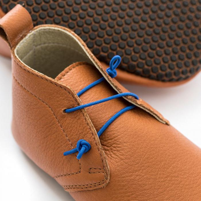 Pantofi cu talpă moale Liliputi cu crampoane antialunecare - Urban Boho 1