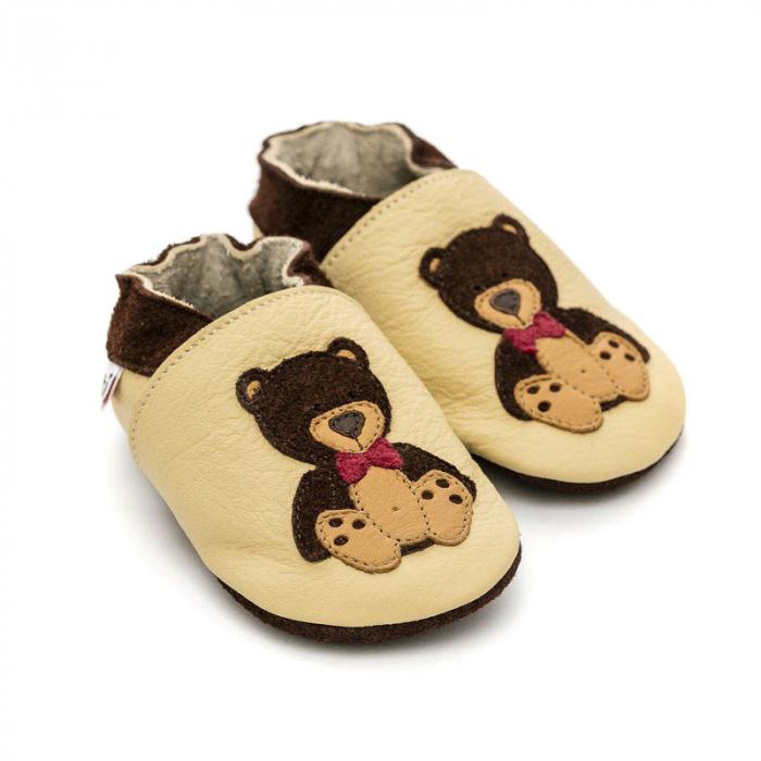 Pantofi cu talpă moale Liliputi® - Teddyboy 0