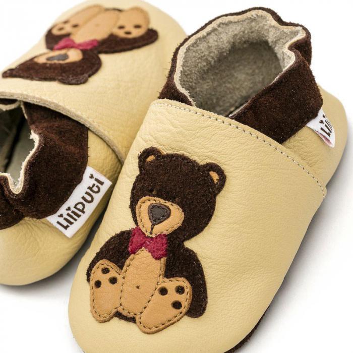 Pantofi cu talpă moale Liliputi® - Teddyboy 1