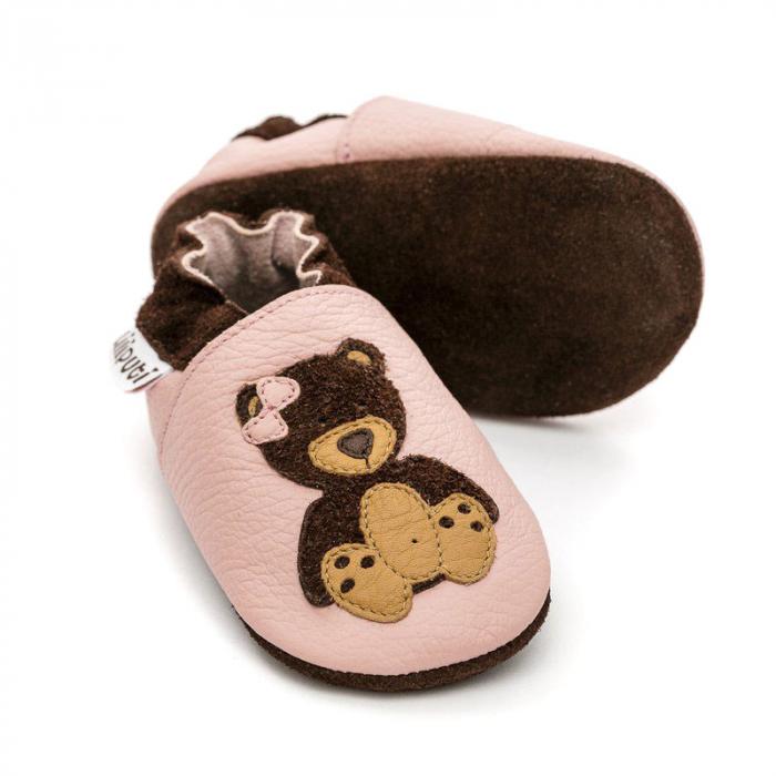 Pantofi cu talpă moale Liliputi® - Teddygirl 1
