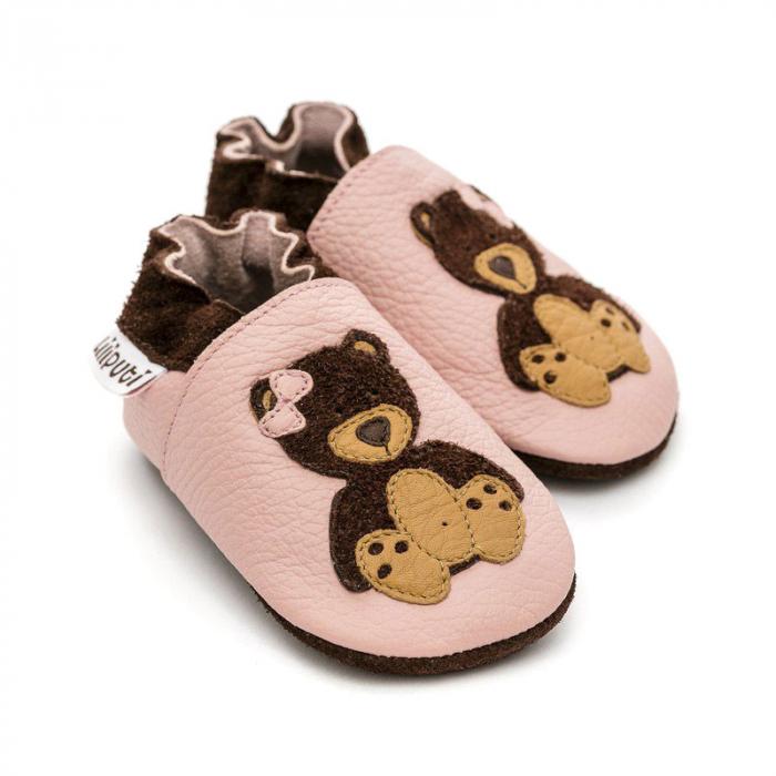 Pantofi cu talpă moale Liliputi® - Teddygirl 0